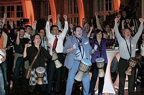Drum Cafe supply Icebreakers and Energiser Sessions for your next Event or Conference
