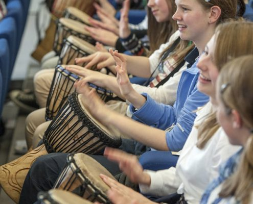 Drum Workshops and Entertainment for Schools