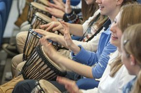 Drumming Workshops and Interactive Entertainment for School Groups and Events