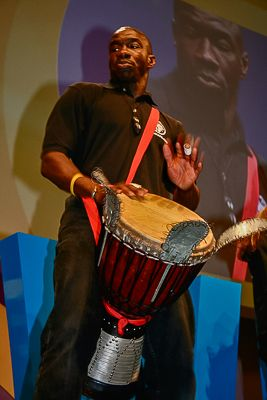 Experience the magic of drumming