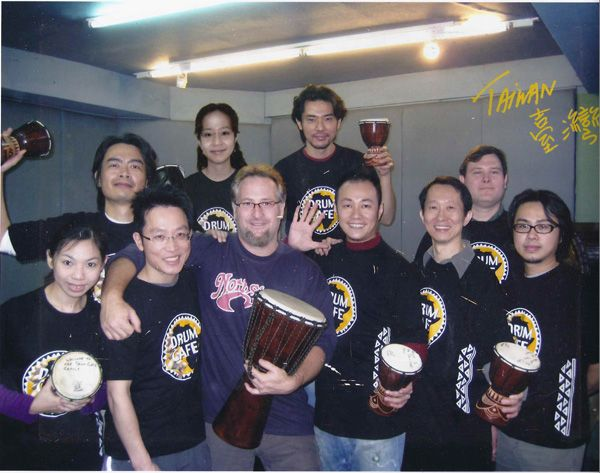 drum-cafe-performs-for-the-president-of-taiwan
