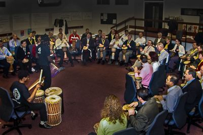 Drumming workships UK