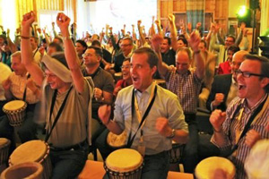 Drumming unites us