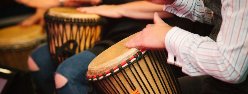 Interactive Drumming for Events and Conference Entertainment