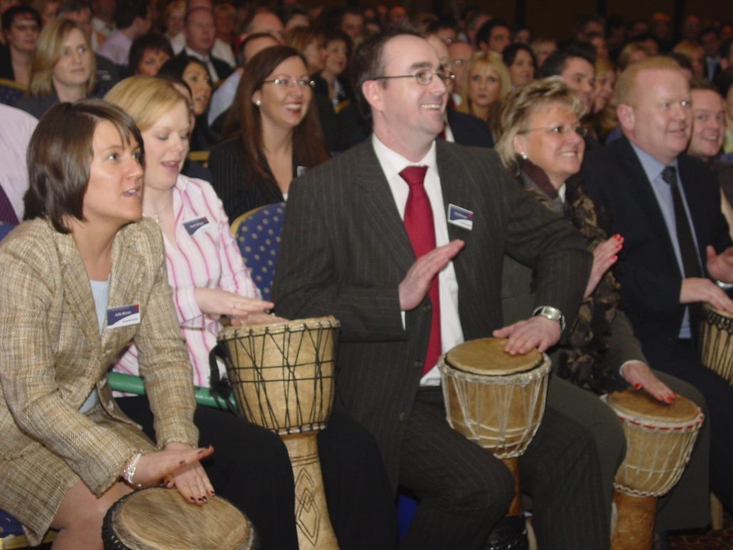 Interactive Drumming is the perfect Experiential Marketing Activity to Unite Guests