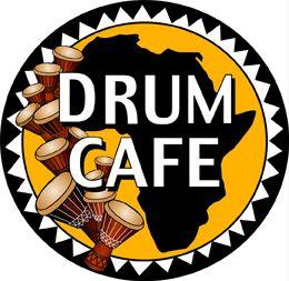 Drum Cafe QR promotions page logo