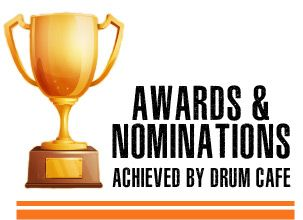 Awards & Nominations Achieved by Drum Cafe for Team building and entertainment