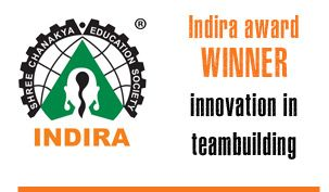 Drum Cafe are winners of the Indira Award for Innovation in team building