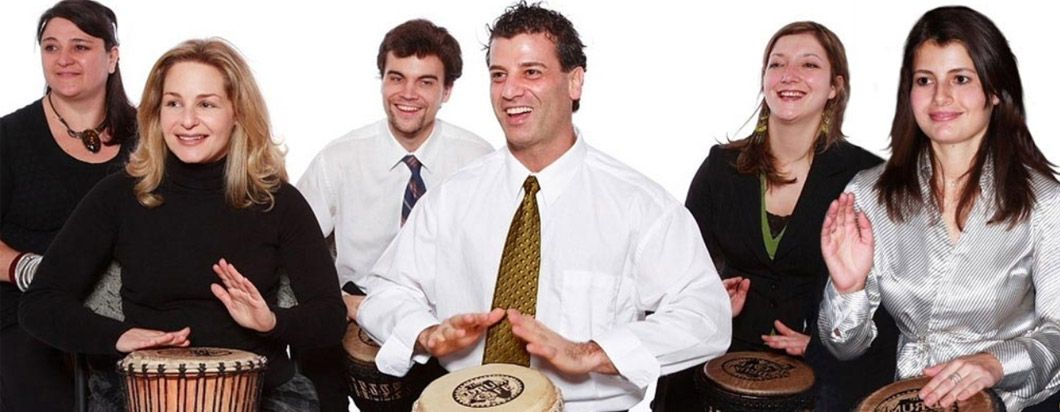 Interactive Drumming as a Team Building Activity