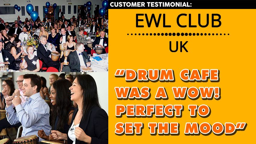 Drum Cafe Year-end Event Client Testimonial