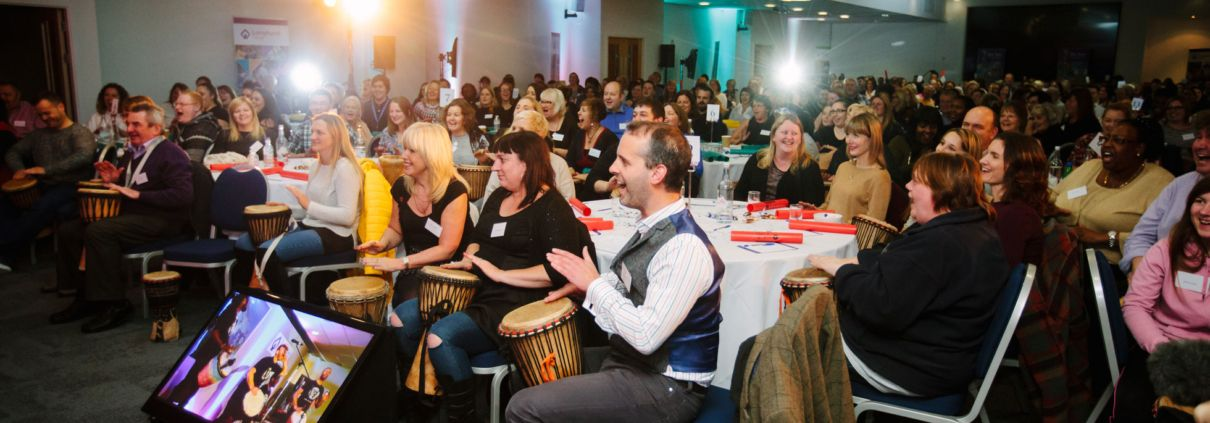 Drum Cafe is one of the oldest providers of corporate drumming workshops.