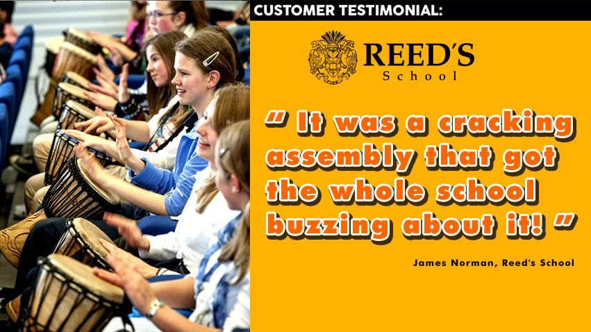 School team building customer testimonial