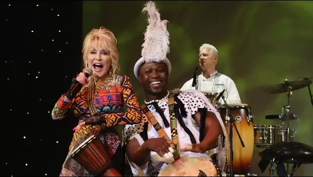 Dolly Parton and Drumstruck at Festival of Nations