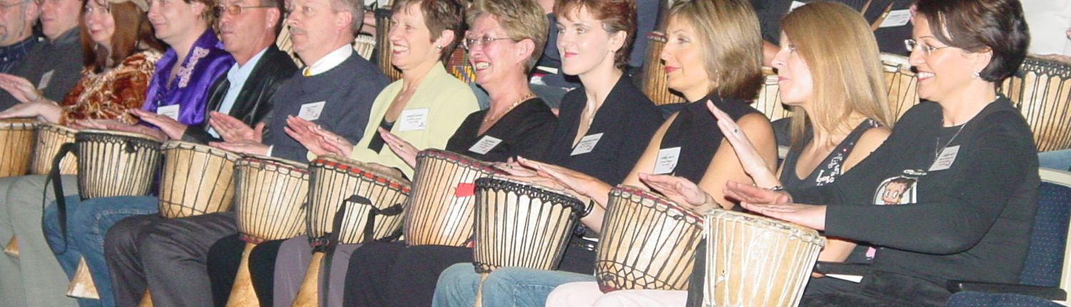 Interactive African Drumming for Conferences and Events