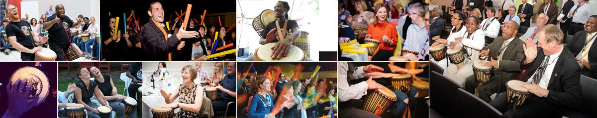 Interactive Team Building, Conferences and Event Entertainment using African Drumming and Rhythm