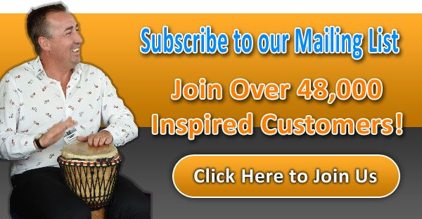 Subscribe to our Newsletter for exclusive Drum Cafe offers and content